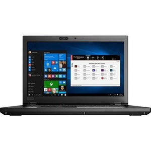"Lenovo ThinkPad P52s 20M9000FUS Laptop (Windows 10 Pro 64-bit, Intel Core i7-8750H, 15.6"" LED Screen, Storage: 512 GB, RAM: 16 GB) Black"
