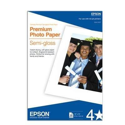 Epson S041329 4in Roll Premium Semiglossphoto Paper for 1270-870-875Dc & 2000P