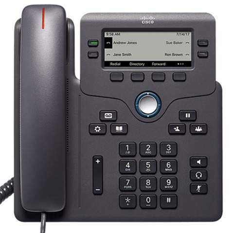 Cisco IP Phone 6851 with Multiplatform Firmware supporting 4 SIP registrations CP-6851-3PCC-K9