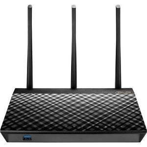Asus Rt-ac66u B1 Ieee 802.11ac Ethernet Wireless Router - 2.40 Ghz Ism Band - 5 Ghz Unii Band(3 X E