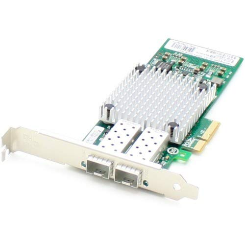 AddOn Intel I350F2 Comparable 1Gbs Dual SFP Port Network Interface Card with 2 1000Base-SX SFP Transceivers