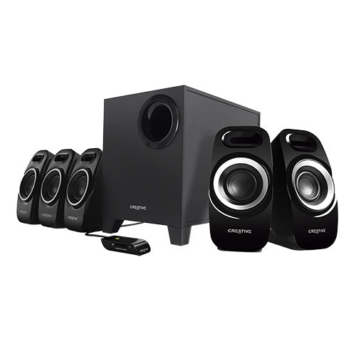 Creative Inspire T6300 51MF4115AA002 5.1 Channel 22 Watt Subwoofer Speaker System