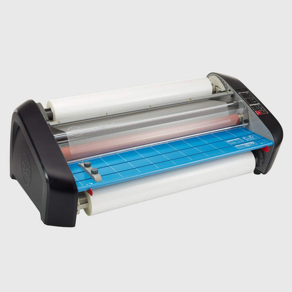 Pinnacle 27 EZload 27-Inch Roll Laminator, Blue/Grey