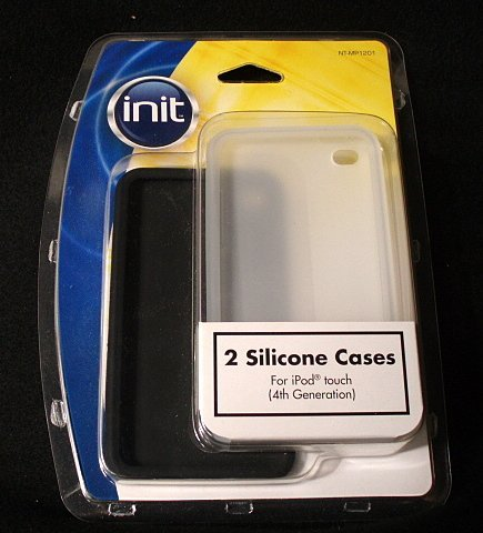 Init iPod Touch 4G Silicone Case (NT-MP1201) - Black