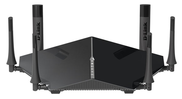 D-Link AC3200 Ultra Tri-Band Wi-Fi Router With 6 High Performance Beamforming Antennas (DIR-890L/B)