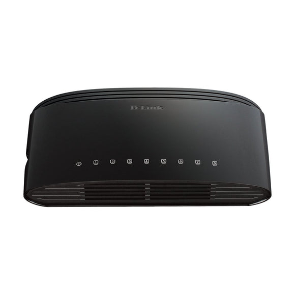 D-Link 8-Port Fast Ethernet Desktop Switch (DES-1008E)