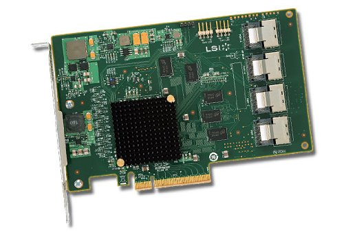 16-Port Int, 6GB/S Sata+SAS, Pcie 2.0; in The Box: LSI SAS 9201-16I, Qig, Driver