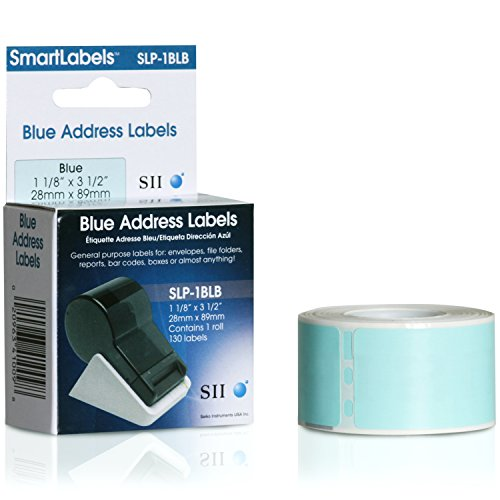1pk Slp-1blb Blue Address Label 1 1/8in X 3 1/2in 29x89 No Return