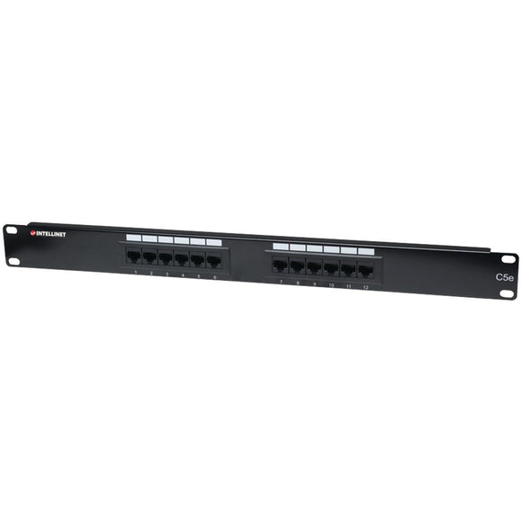 Intellinet Networks Cat-5e Patch Panel 12-Port (513531)
