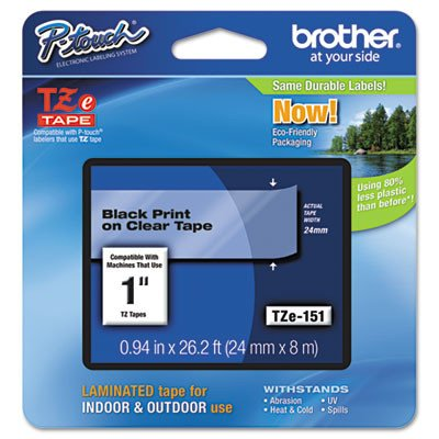 Brother Tape Retail Packaging