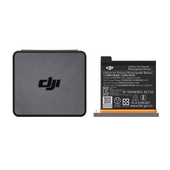DJI (CP.OS.00000025.01) Osmo Action Battery Backup, Dark Grey