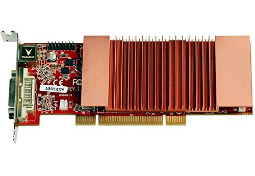 VisionTek Radeon 3450 SFF 512MB DDR2 PCI Graphics Card - 900321