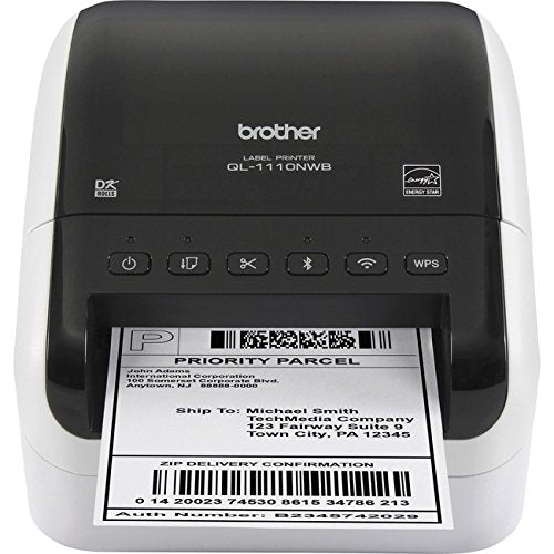 Brother QL-1110NWB Wide Format Professional Label Printer