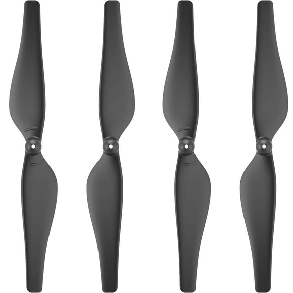 Ryze DJI Tello Part 2 Propellers Lightweight and durable, Easy to mount and detach Quick-Release Propellers, Black 2 Pairs
