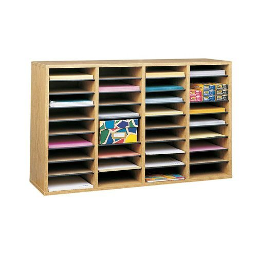 Safco Products Wood Adjustable Literature Organizer