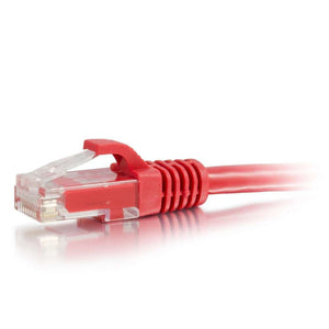C2G 04000 Cat6 Cable - Snagless Unshielded Ethernet Network Patch Cable, Red (6 Feet, 1.82 Meters)