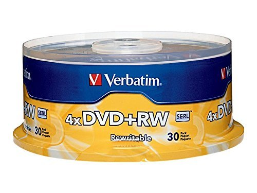 Verbatim 4.7 GB 1x ReWritable Disc DVD+RW
