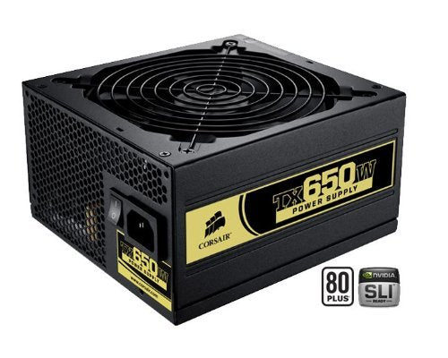 Corsair 80 Plus Certified Power Supply Compatible with Intel Core i7 and Core i5