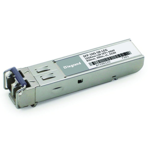 C2G/Cables to Go SFP-10G-SR-LEG Cisco Compatible 10GBase-SR MMF SFP+ Transceiver Module - TAA Compliant