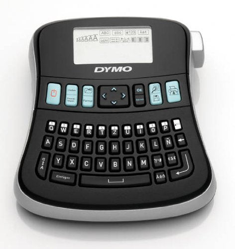 Dymo 1738345 Desktop Label Maker Uses 1/4, 3/8 and 1/2-Inch D1 Tapes (Black)