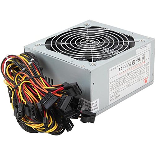 Coolmax Power Supply ATX 600 Power Supply - ZX-600