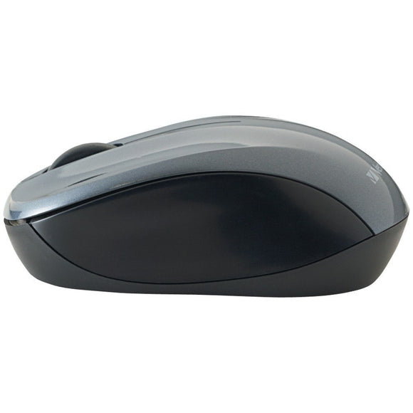 Verbatim Nano Wireless Notebook Optical Mouse, Graphite  97670