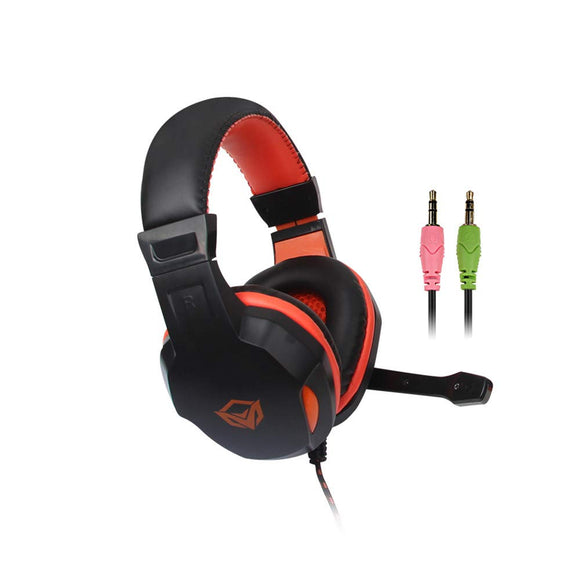 MEETION USB Gaming Headphones With Mic Black HP010