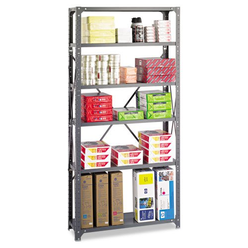 Safco Products 36x12 Commercial 6 Shelf Kit (6268)