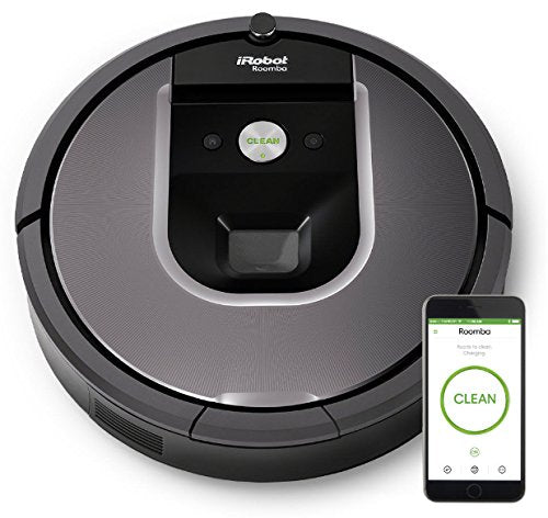 Open Box iRobot Roomba 960 Robot Vacuum- Wi-Fi Connected Mapping, Works with Alexa, Ideal for Pet Hair, Carpets, Hard Floors