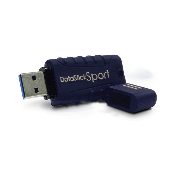 Centon Electronics MP Essential 64GB USB 3.0 Datastick Sport, Blue (S1-U3W2-64G)