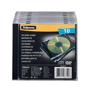 Fellowes CD Jewel Case (10 Pack)