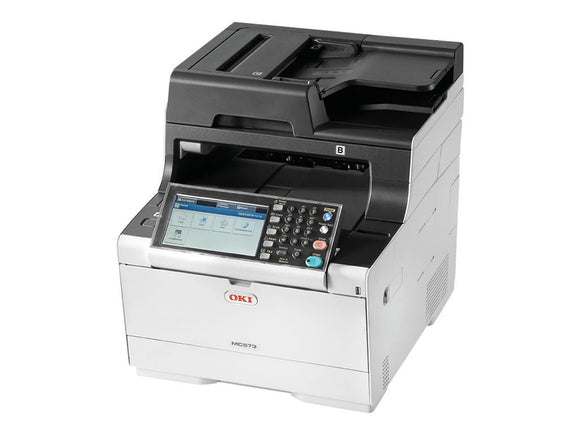 OKI 62447301 MC573dn Fax/Copier/Printer/Scanner Black/White