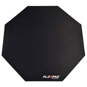 Florpad Space Gray Gaming Office Chair Mat | Protects All Floors | Liquid Resistant | Noise Cancelling | Smooth Surface 45'' x 45''