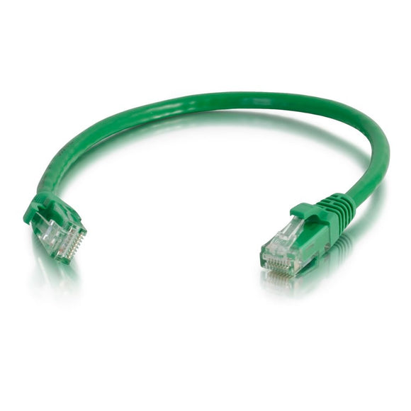 C2G 15179 Cat5e Cable - Snagless Unshielded Ethernet Network Patch Cable, Green (3 Feet, 0.91 Meters)