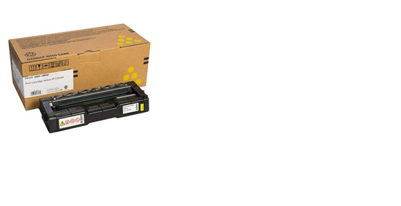Ricoh 407656 SP C252HA Original Toner Cartridge Yellow