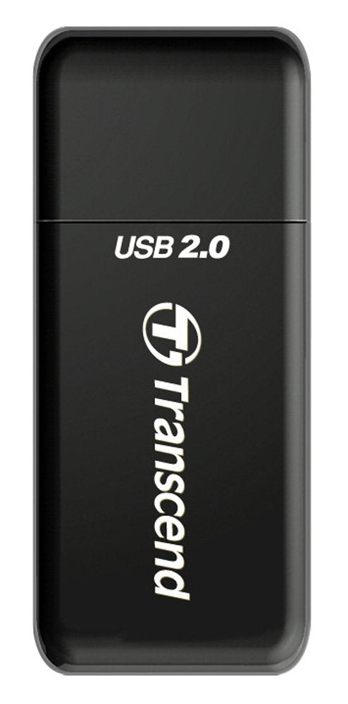 Transcend P5 9-in-1 USB 2.0 Flash Memory Card Reader TS-RDP5K (Black)