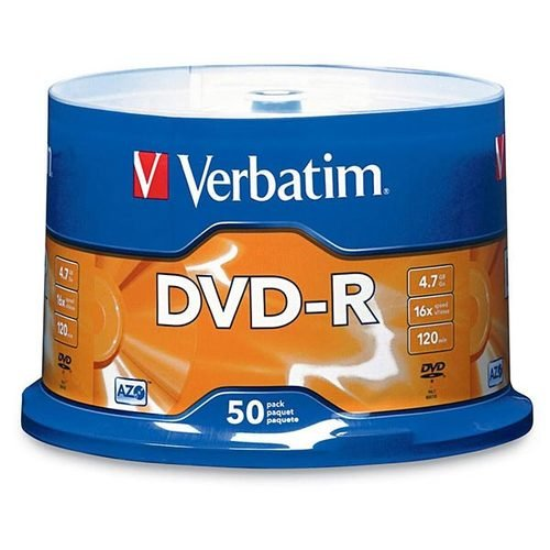 Verbatim AZO DVD-R 4.7GB 16X Surface - 50pk Spindle