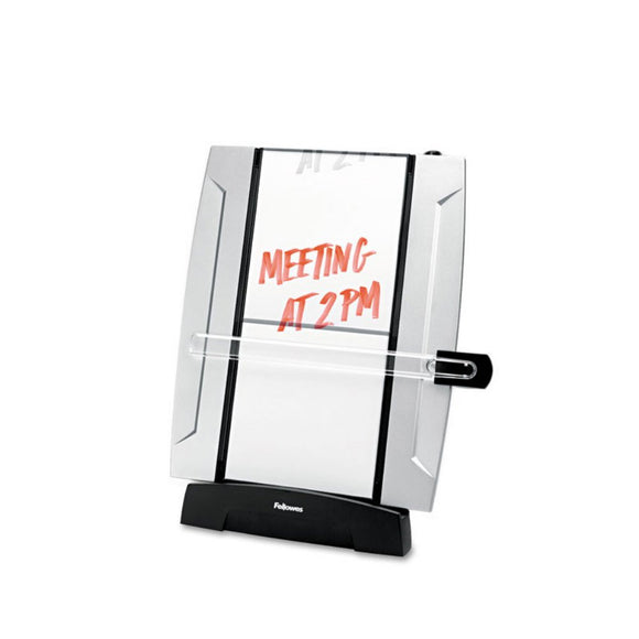 Fellowes Office Suites Freestanding Desktop Copyholder - Black/Silver