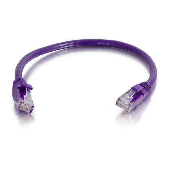 7ft Cat5e Purple Snagless Patch Cable