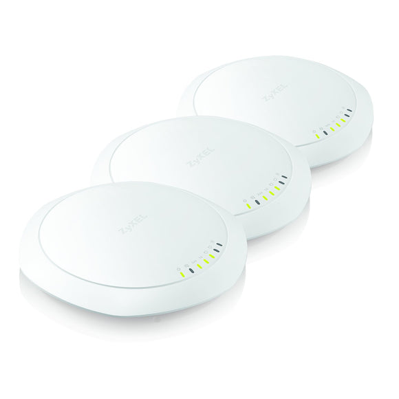Zyxel WiFi 11ac Wave 2, 3x3 Managed Access Point, PoE, MU-MIMO, Dual Band, 802.11ac, Unified, Manage with USG, UAG, or NXC Series (NWA5123-AC HD)