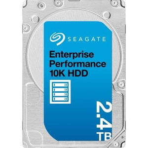 Seagate Enterprise Performance 2.4TB 10k RPM 512e/4Kn SAS 12Gb/s 256MB Cache 2.5-Inch HDD - ST2400MM0129