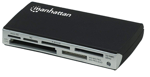 Manhattan Multi-Card Reader/Writer, 60-in-1 (100939)