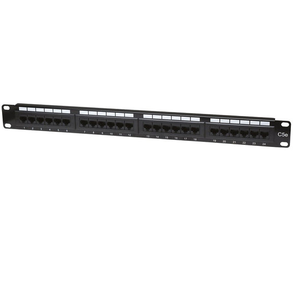 Manhattan Intellinet 24-Port 1U Cat5e Patch Panel (513555)