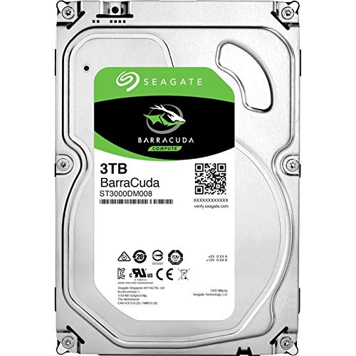 Seagate BarraCuda - 3TB, 7,200 RPM, 3.5