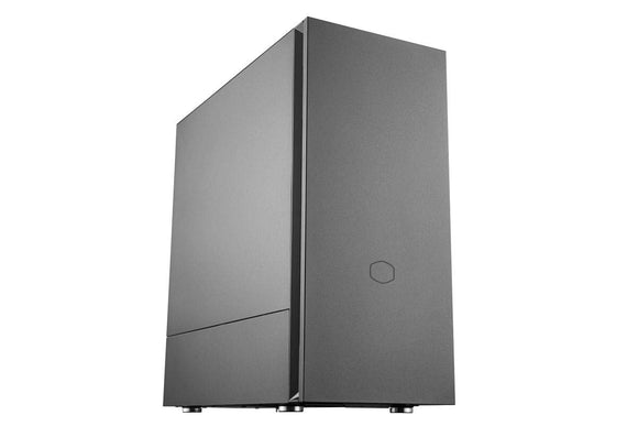 Cooler Master Silencio S600 ATX Mid-Tower W/Sound-Dampening Material, Sound-Dampened Steel Side Panel, Reversible Front Panel, SD Card Reader, and 2X 120mm PWM Silencio FP Fans