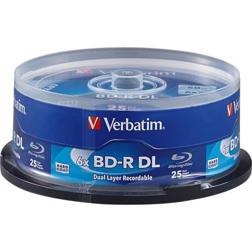 Bd-R Dl 50Gb 6X Surface - 25Pk Spindle