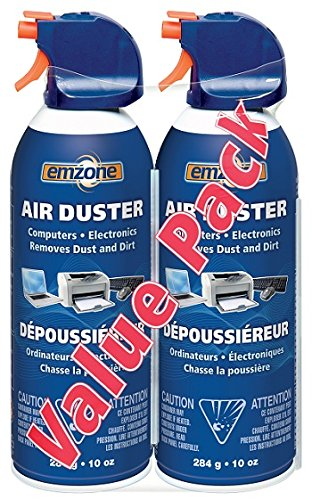 emzone Air Duster (aerosol) Double Pack-2x 284 Grams