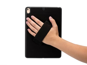 Griffin iPad 9.7 Handstrap Case, Airstrap 360, Rotating Case, 3 ft Drop Protection, Black