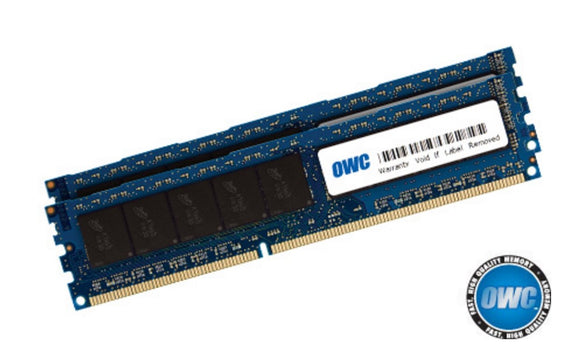 OWC 16.0 GB (2X 8GB) PC8500 DDR3 ECC 1066 MHz 240 pin DIMM Memory Upgrade Kit for 2009 Mac Pro and Xserve