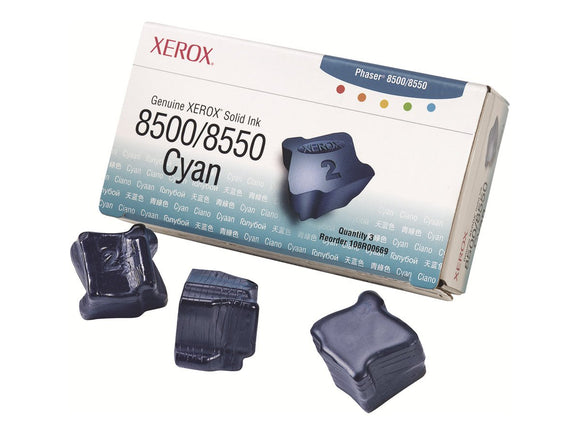 Xerox 108R00669 Solid Ink Cartridge (Cyan)